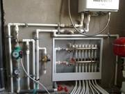 Монтаж систем отопления под ключ в Круглом