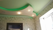 2-уровневые и криволинейные натяжные потолки в Могилеве
