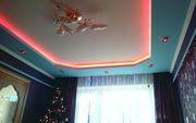 Сочетание натяжного потолка и гипсокартона монтаж в Могилеве